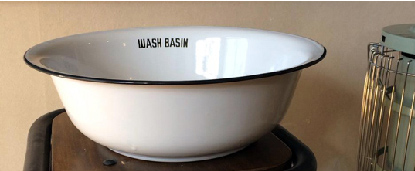 ウォッシュ ベイシン ホーロー洗顔器
