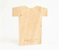 くすのき防虫板Tシャツ型